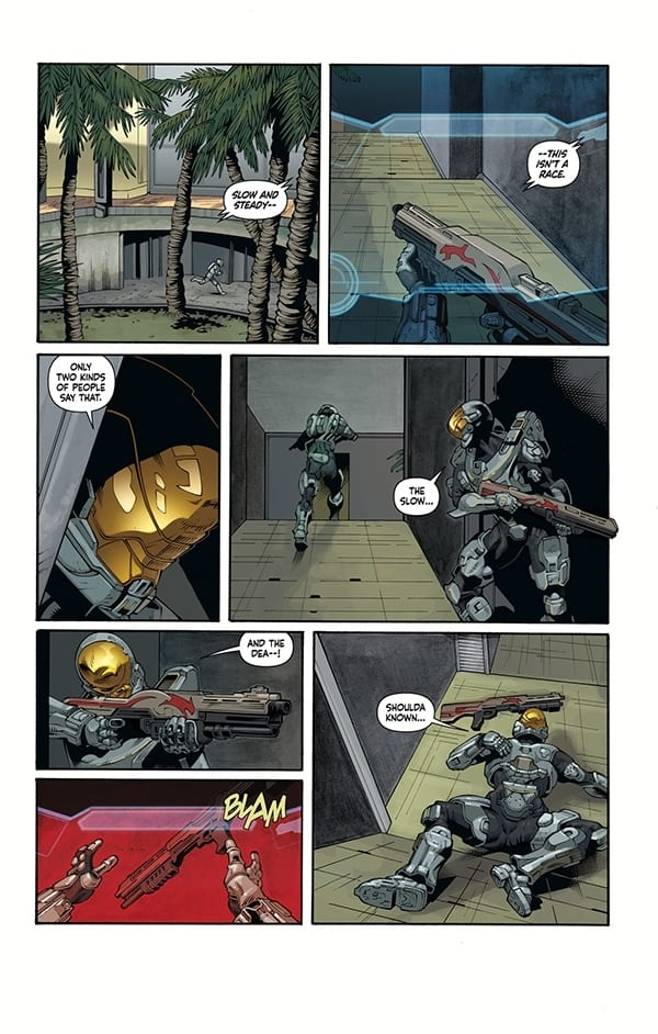Halo Lone Wolf First Look Shows Off Spartan Linda 058 & Her Nemesis   Don&39;t Feed the Gamers
